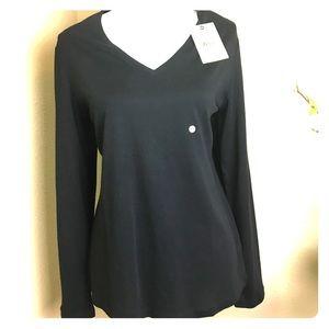 Bass Long Sleeves Black, Size XL